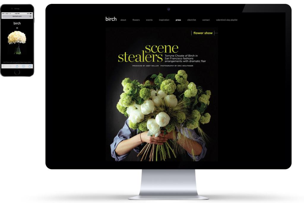birch, San Francisco florist