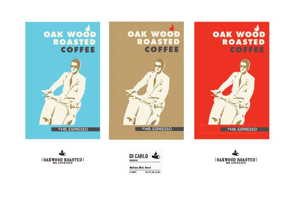 Mr. Espresso packaging design
